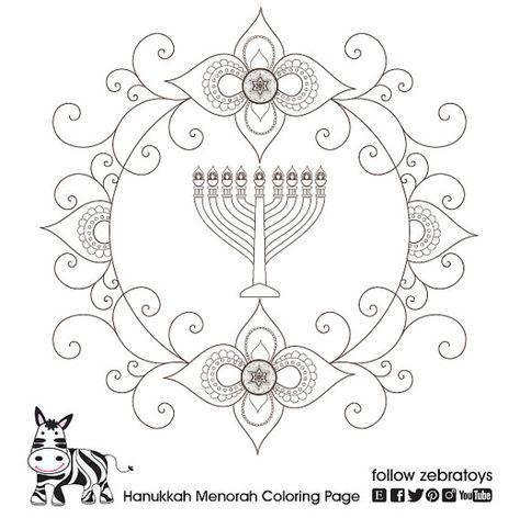 7a826c884c29ad96ab3afb5b1b428b8e hanukkah menorah coloring pages