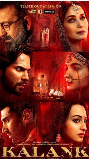 Kalank 2019 Hindi Pre Dvdrip X264 700mb Full Hd Movies