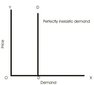 Perfecly Inelastic Demand Law Of Demand Simple Words Demand