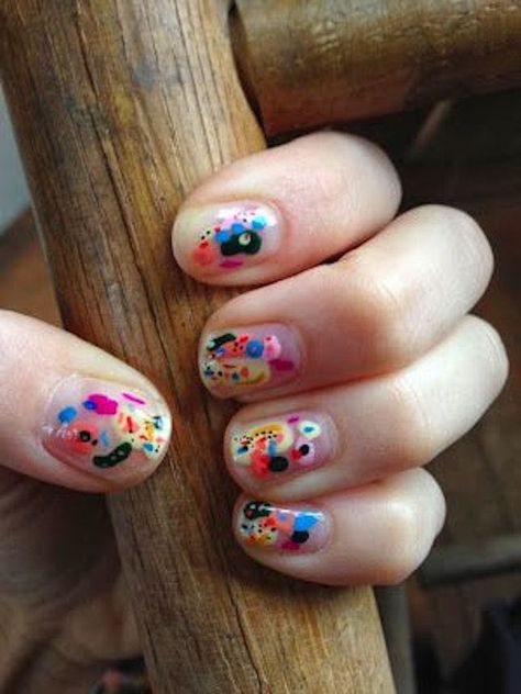 "If you're unfamiliar with nail trends and you hear the words ""coffin nails,"" what comes to mind? It's not nails with coffins drawn on them. It's long nails with a square tip, and the look has."