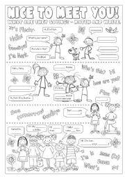 Greetings for kids teaching english pinterest english english worksheet greetings m4hsunfo Gallery