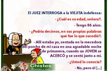 broma hombre indefenso