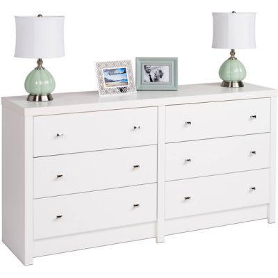 Dressers Walmart Com White 6 Drawer Dresser 6 Drawer Dresser Prepac Furniture