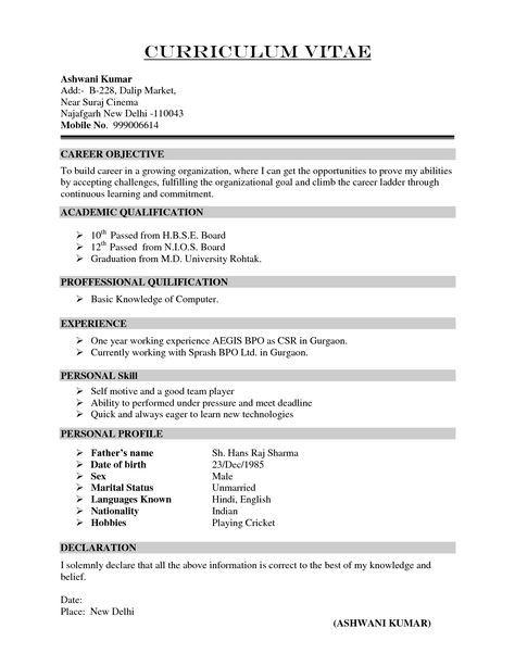 Pin By Joydeep Debnath On Joydeep Resume Format Free Download Sample Resume Format Resume Format Download