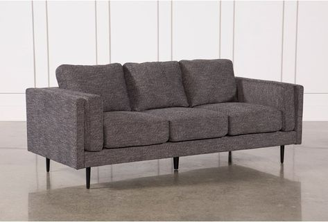 Aquarius Dark Grey Sofa Gray
