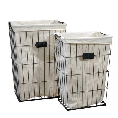 Baskets In 2020 Metal Laundry Basket Tall Laundry Basket