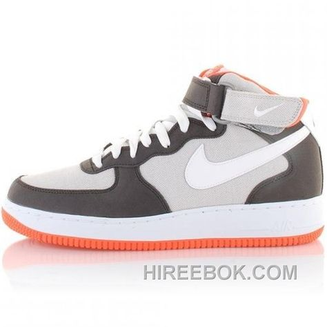 nike air force 1 mid shoes grey