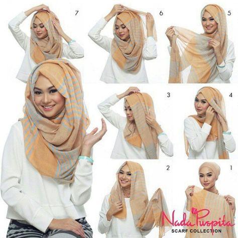 Fold hijab