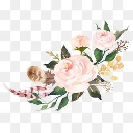 Flower Png Vector Psd And Clipart With Transparent Background For Free Download Pngtree Pink Watercolor Flower Free Watercolor Flowers Flower Painting