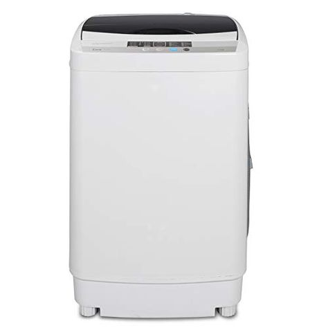 5.74 FT Power Cord 6.57 FT Inlet Hose ZENSTYLE Portable Compact Design Multifunctional Laundry Washer//Spinner Fully Automatic 10 LB Top Load Mini Washing Machine w//Drain Pump