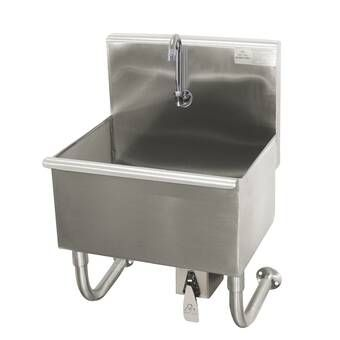 21 5 X 24 Freestanding Laundry Sink With Faucet In 2020 Sink