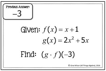 Function Operations And Composition Worksheet Answers