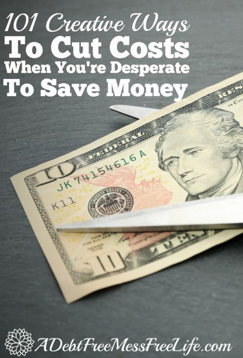 Cut Costs To Save Money   Best Get Out Of Debt Tips