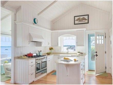 Small Cottage Kitchen Design Inspire Tiny Beach Cottage Plans Small Coastal Cottage House Small Cottage Kitchen White Cottage Kitchens Cottage Kitchen Design