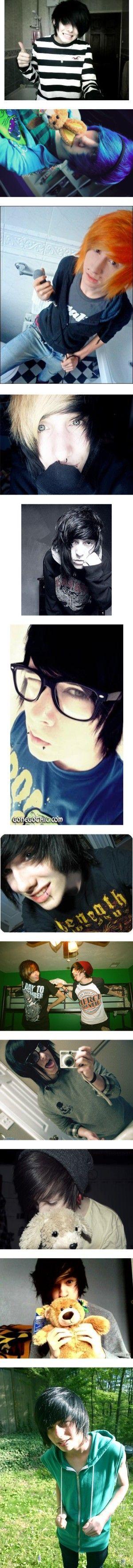 Hot emo boy gorgeous dewdz p pinterest emo um and boys