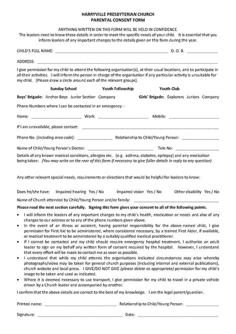 Templates Child Travel Consent Form - Templates Hunter Child