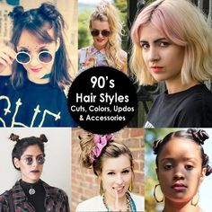 90's hairstyles and accessories that we loved at the time, but may not rock now.