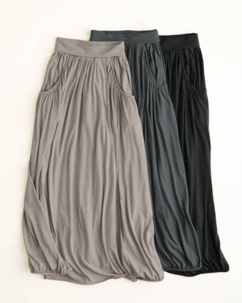 Favorite Maxi Knit Skirt - I really like these maybe different color. These would be good to wear any day, and for casual skirts, Iove skirts.
