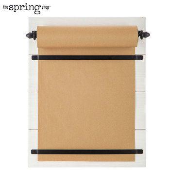 White Craft Paper Wood Memo Board Memo Board Paper Crafts Shop