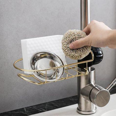 Amazing Faucet Rack - Golden