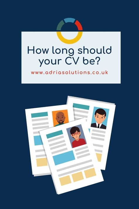 How long should your CV be?