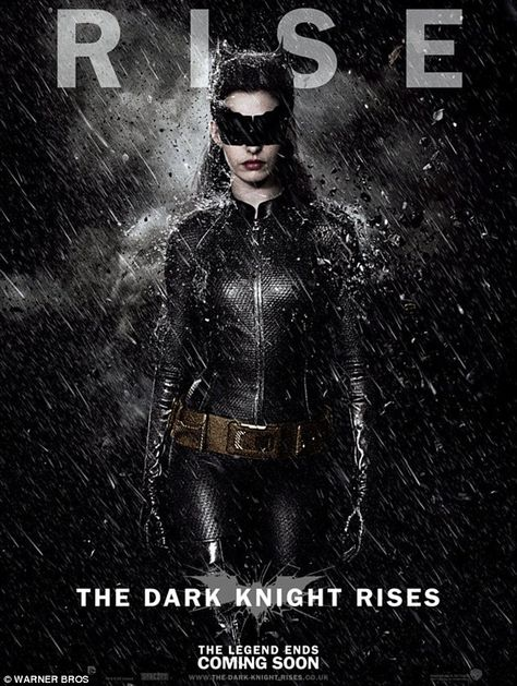 Dark Knight Rises Posters Show Anne Hathaway S Catwoman In All Her