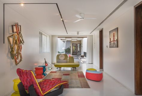 Villa by moriq interiors and designing consultants interior designer in hyderabadtelangana india also house design rh pinterest