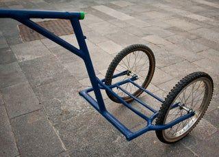 Biga The Bike Trailer Remolque Para Bicicleta Remolques Para Bicicletas Autos De Madera