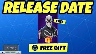 How To Gift Free Skins In Fortnite Gifting System New Fortnite Tracker Fortnite Release Date Dating