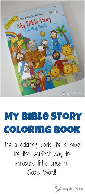 My Bible Story Coloring Book | Top posts from Syncopated ...