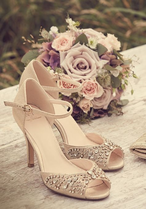 7db72ab8881 A statement finish to your bridal look with our No.1 Jenny Packham sandals
