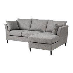 Ikea Bankeryd 2 Seat Sofa W Chaise Longue Right Small Chaise Sofa Sofa Ikea Sofa