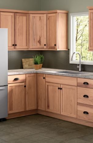 Cabinetry That Just Makes Sense At An Everyday Value Cardell Concepts Give You A Completely Fresh Sele Menards Kitchen Cabinets Hickory Cabinets Kitchen Redo