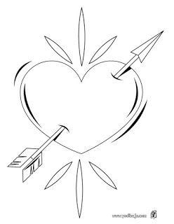 Dibujos Para Colorear Del 14 De Febrero Dia Del Amor Y La Amistad Dibujos A Lapicero Dibujos Dibujos Para Colorear