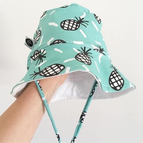 e7c12ab46d61f ThunderCloud Baby 50+ SPF UV Protective Bucket Sun Hat