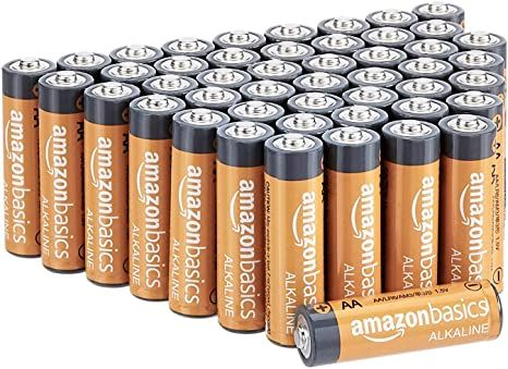 Amazonbasics 48 Pack Aa High Performance Alkaline Batteries 10 Year Shelf Life Alkaline Battery Alkaline Batteries