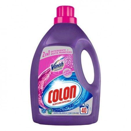 Colon Vanish Powergel Laundry Detergent 24 20 Laundry Liquid