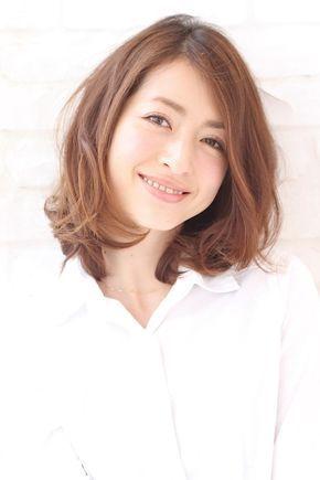 井川遥さん風 ミディアムパーマヘア Xelhaのヘアスタイル ヘア