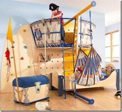 Pirat Bed Decoration Chambre Garcon Chambre Enfant Deco