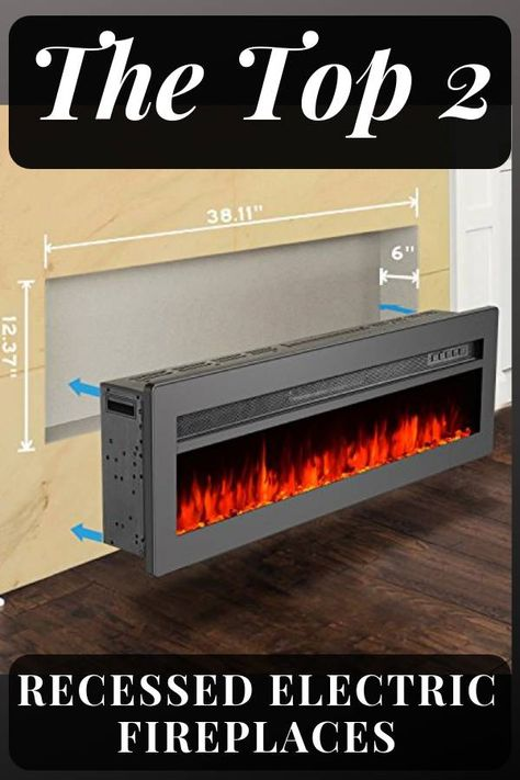 Gmhome Wall Recessed Electric Fireplace Review Fireplacelab In