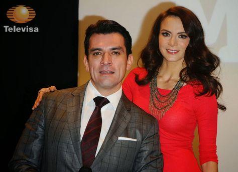 Jorge Salinas E Silvia Navarro Serao Protagonistas De Novela