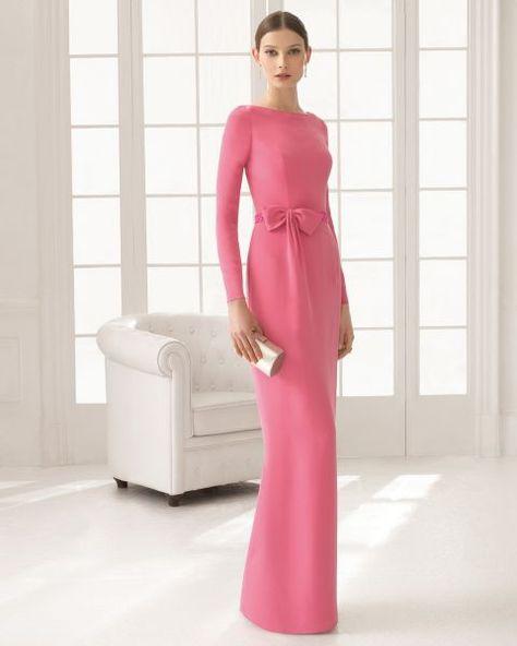 Los 33 vestidos de fiesta largos más lindos para lucir ultra elegante en una boda: Tus mejores aliados Image: 14