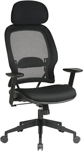 New Air Grid Mesh Chair Headrest Pno 55403 Online Shopping In 2020 Black Office Chair Office Star Mesh Office Chair