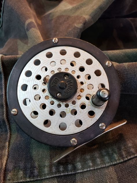 Details about  /VINTAGE FLY REEL MARKED MADE IN ENGLAND