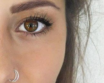 Nose Rings Studs Etsy Boho Nose Ring Nose Piercing Hoop