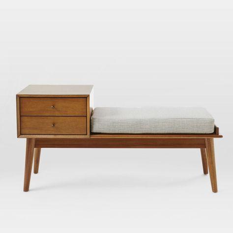 Prime Loring Storage Bench Vintage Oak Project 62 Cjindustries Chair Design For Home Cjindustriesco