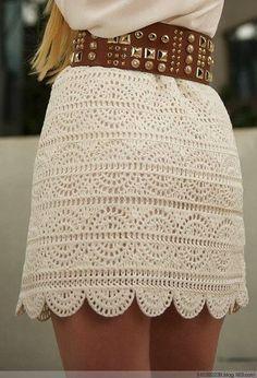 Receitas crculo mini saia croch croche vestidos pinterest crochet beauty skirt for girl crafts ideas crafts for kids dt1010fo