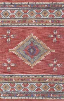 Medallion Terracotta Clic Southwest Rug Design In A Rosy Hue Sizes