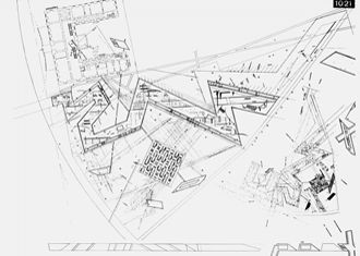Architecture Drawing Museum Berlin jewish museum berlin - the libeskind building please follow us