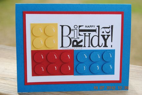 image about Lego Birthday Card Printable called Pinterest